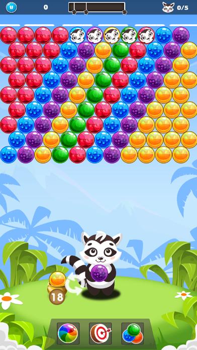 Bubble Raccoon Legend screenshot three