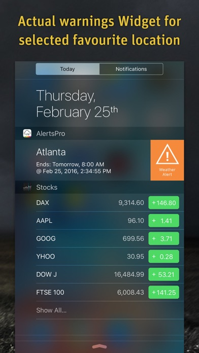 AlertsPro Screenshot