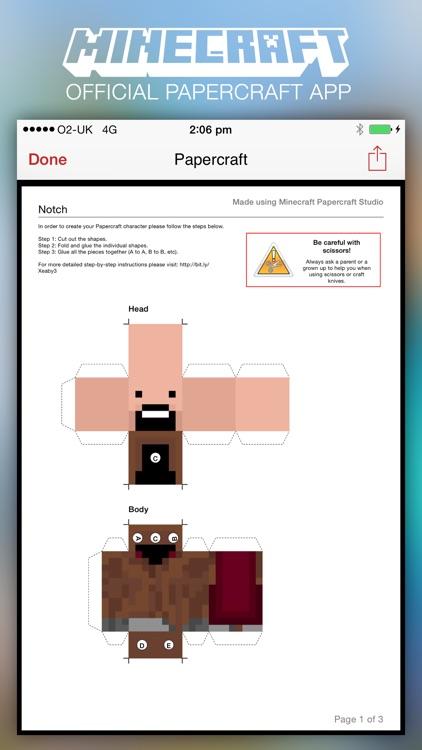 Minecraft: Papercraft Studio screenshot-0