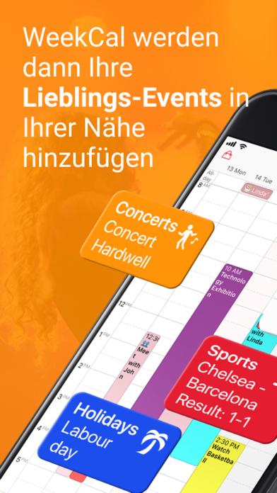 WeekCalendar - Cloud KalenderScreenshot von 7