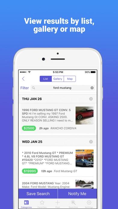 Classifieds 2.0 Marketplace app image