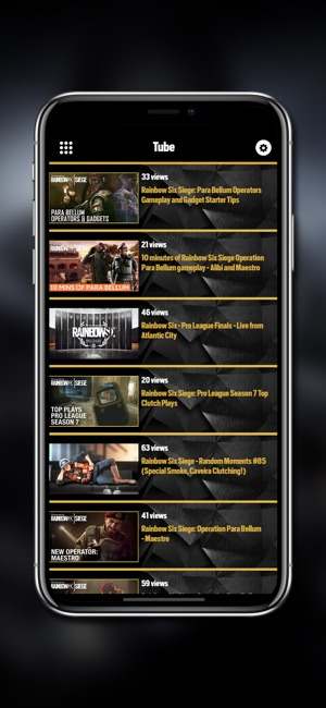 R6 - Stat for Rainbow Six on the App Store