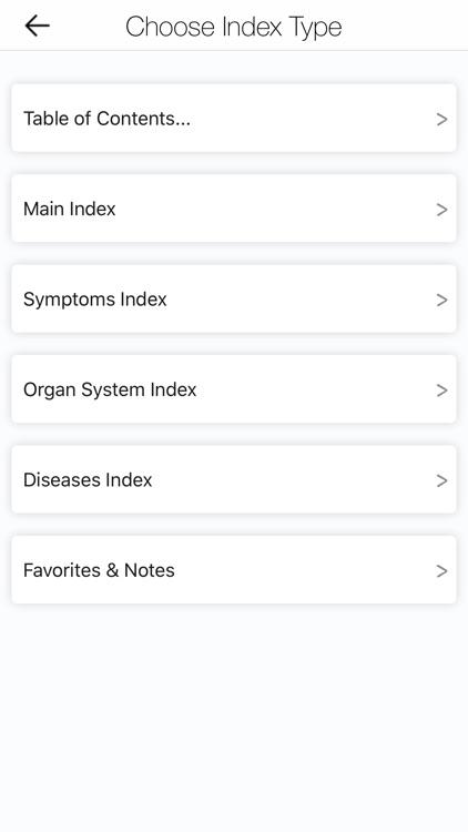MobileDDx™ Pocket DDx Tool screenshot-5