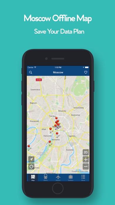 【旅游地图】:莫斯科离线地图
