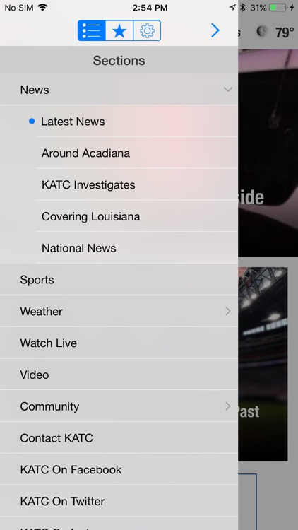 KATC Continuous News & Weather screenshot-1
