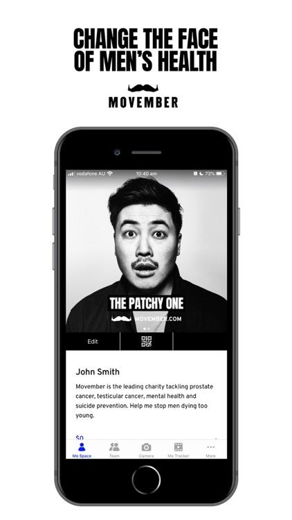 Movember Mobile screenshot-0