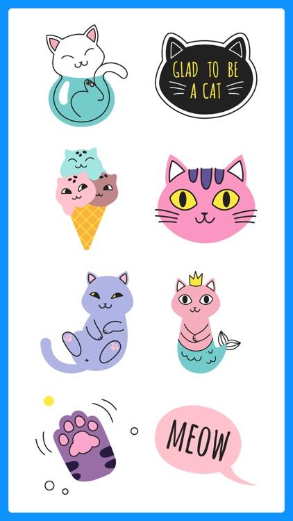 Growly Cat Stickers Emoji App
