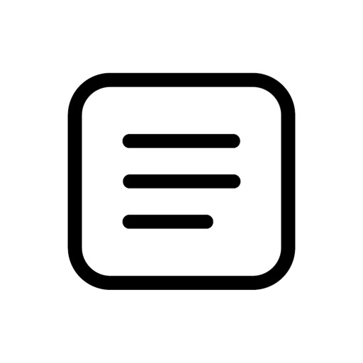 シンプルメモ帳 - ホームに貼れるスマメモ(すま めも)