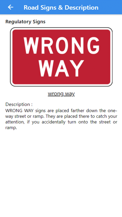 Practice Test USA & Road Signs screenshot 10