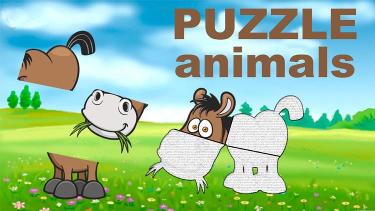 Baby games - Animals puzzle 2