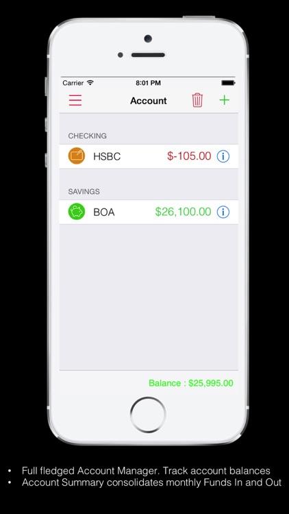Expense Tracker Pro for Home screenshot-4