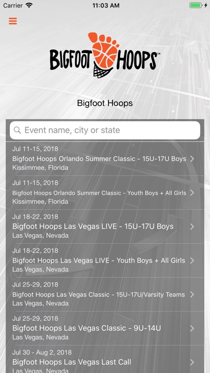 Bigfoot Hoops