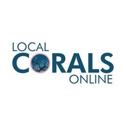 Local Corals Stickers