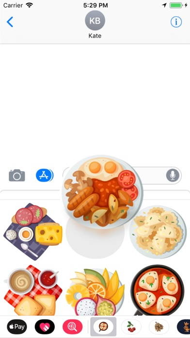 Breakfast Stickers Pro screenshot two