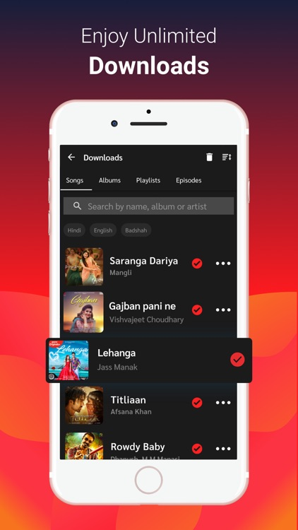 Gaana Music - Songs & Podcasts screenshot-3