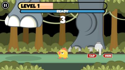 Rhino Smash the birdie escape screenshot one