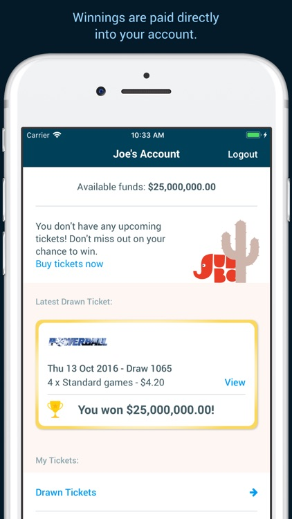 Oz Lotteries screenshot-3