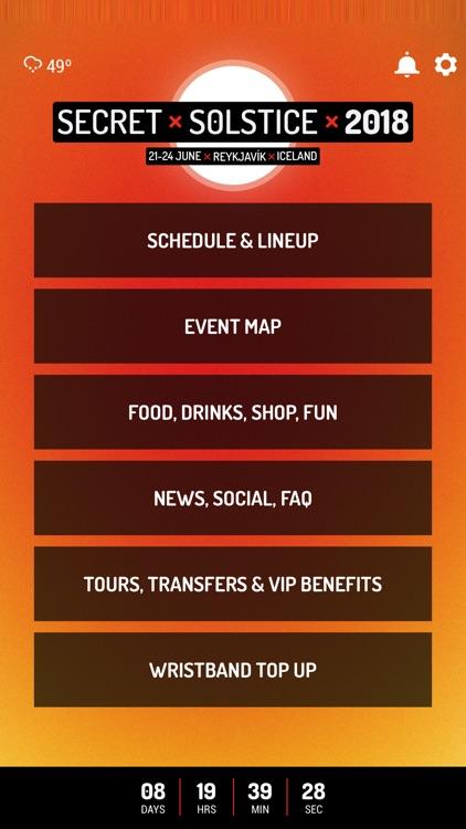 Secret Solstice Festival 2018
