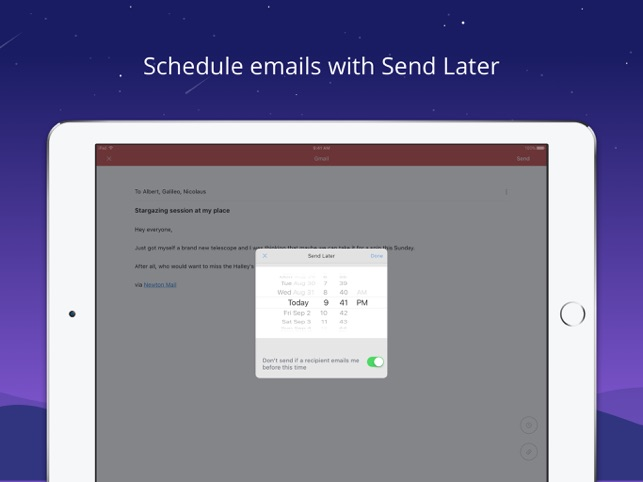 Newton Mail - Email App Screenshot