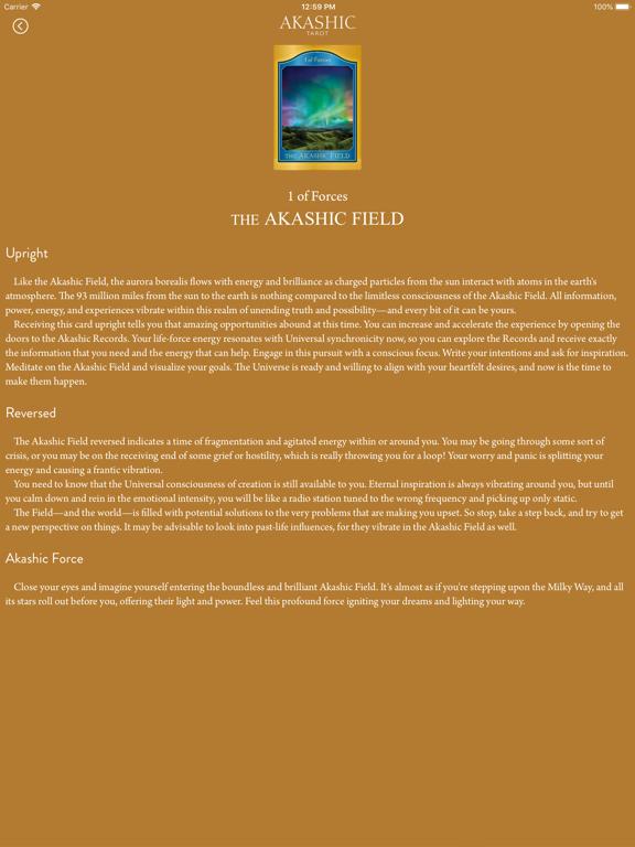 Akashic Tarot screenshot 9