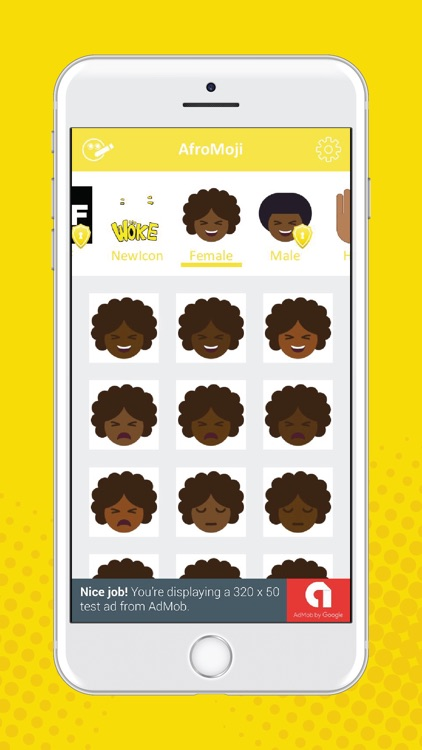 AfroMoji: Black Emoji Stickers screenshot-3