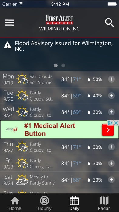 WECT 6 First Alert Weather for Windows