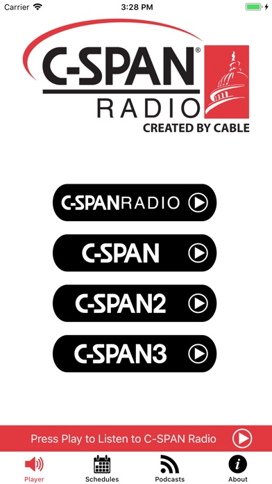 C Span Radio review screenshots