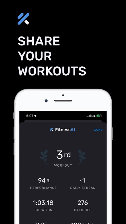 Personal Trainer – FitnessAI screenshot-3
