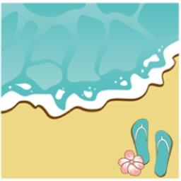 Summer On The Beach Sticker