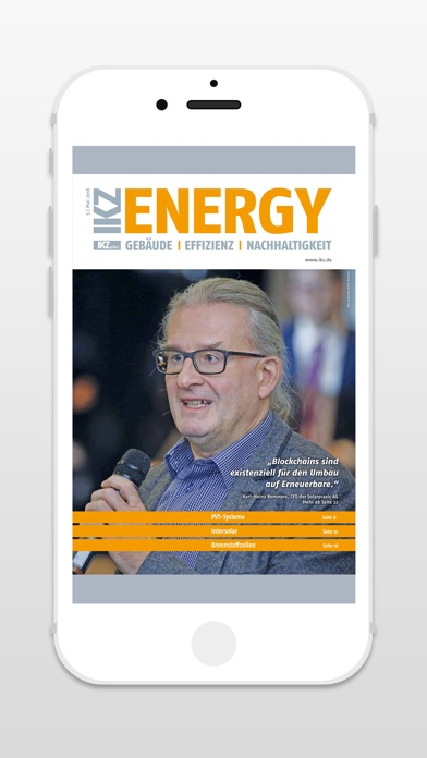 IKZ Energy - ZeitschriftScreenshot von 1