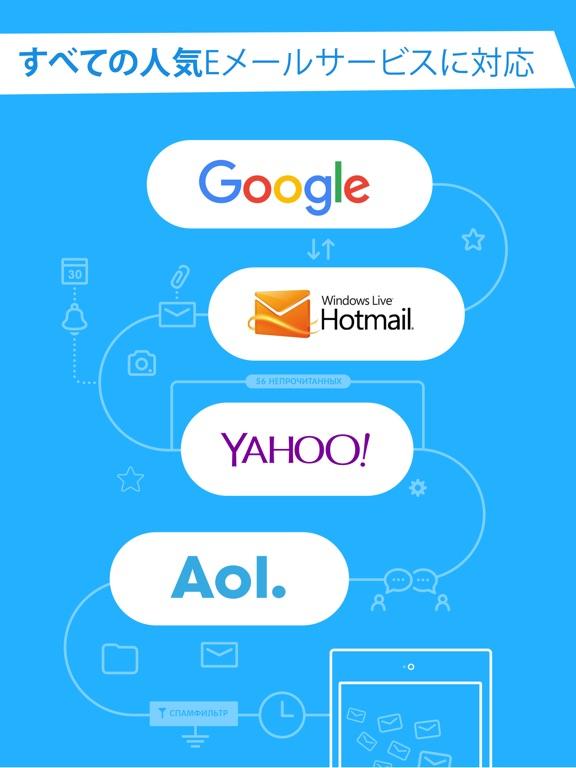電子メールアプリケーション by mail ru ipadアプリ applion