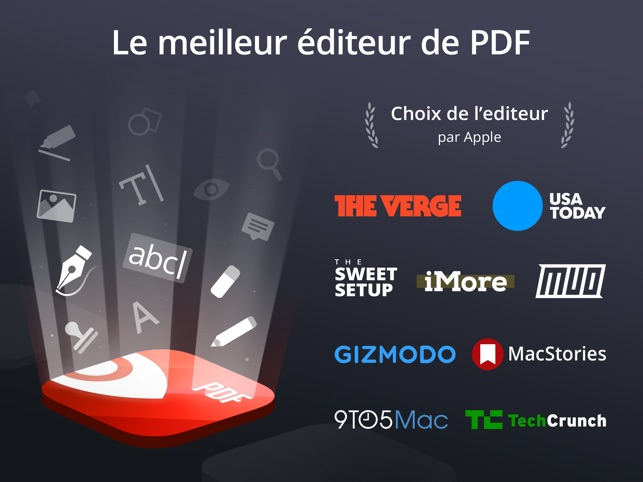 PDF Expert par Readdle Capture d'écran
