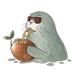 Happy Seal SealMoji Sticker
