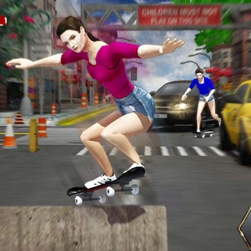 Street Skateboard Girl iOS App