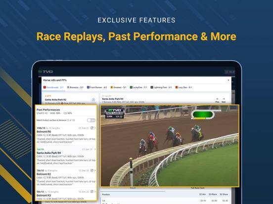 TVG - Horse Racing Betting App screenshot