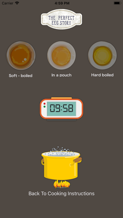 Egg Boiling Timer - 3 ways screenshot one
