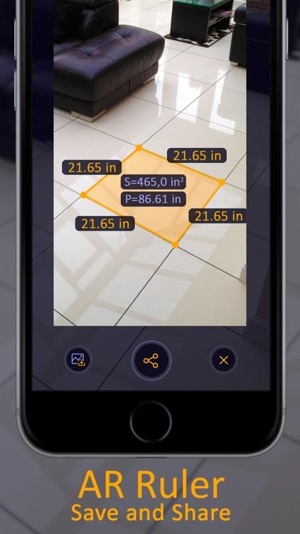 Ruler App + AR Tape Measure screenshot-6
