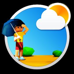 Ícone do app 3DWeather