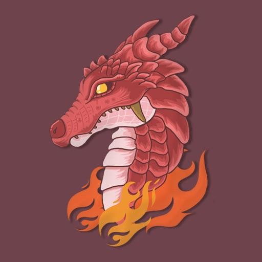 Dragon Beast Stickers