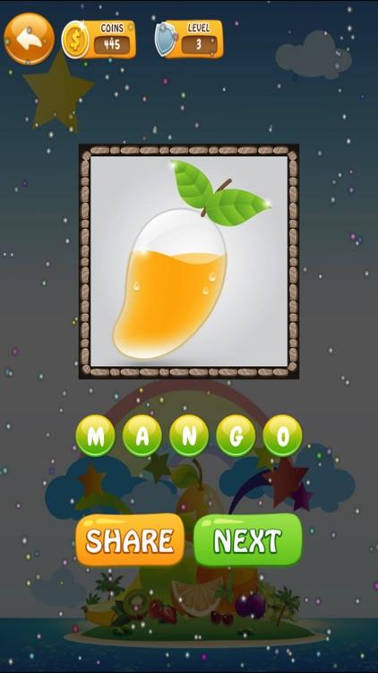 Guess The Fruits - Trivia Quiz