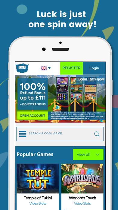 Yeti Casino Games screenshot one