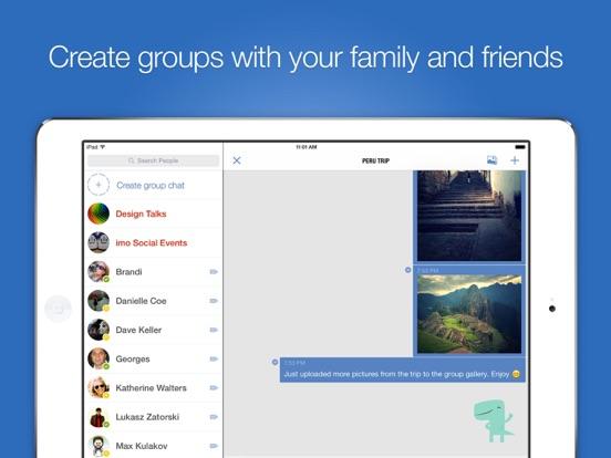 imo video calls and chat HD screenshot 5
