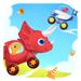 13.恐龙碰碰车 - 赛车和汽车儿童游戏