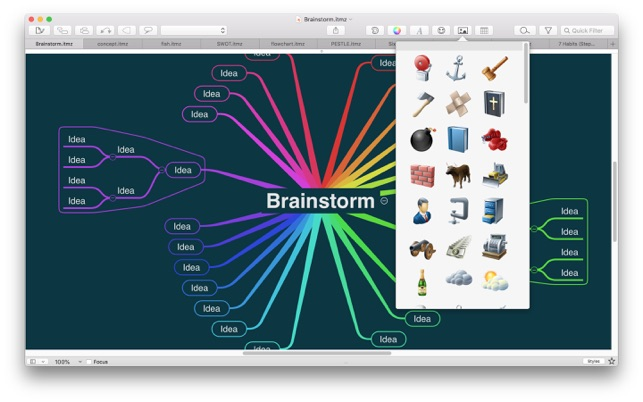 ‎iThoughtsX (mindmap) Screenshot