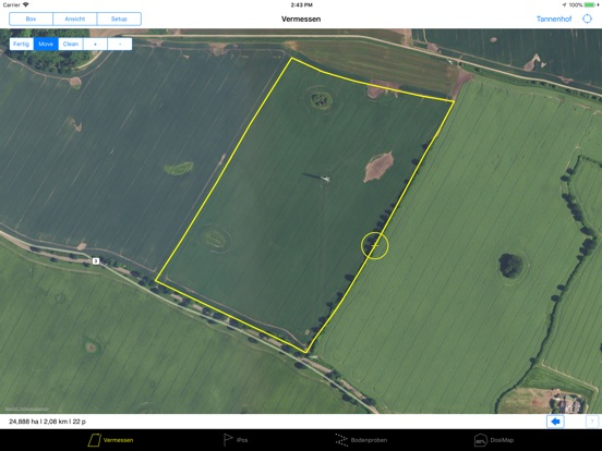 Farmface Geo Assistent Screenshots