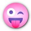 ピンクのスマイリー • Stickers