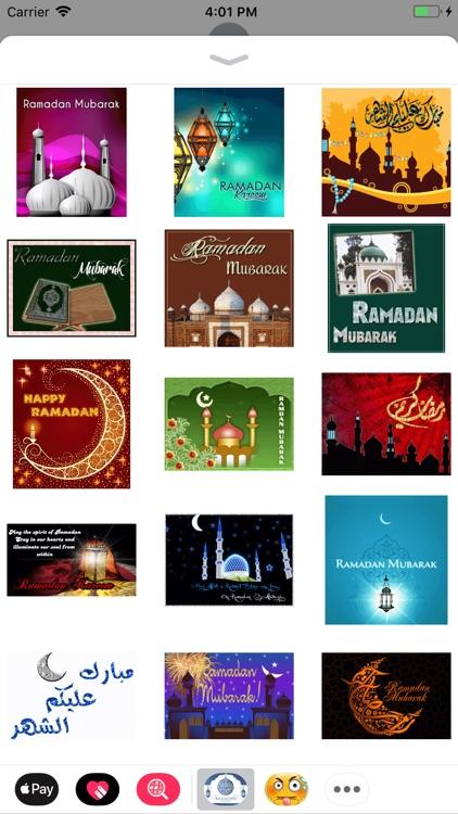 Ramadan Wishes Stickers screenshot-3