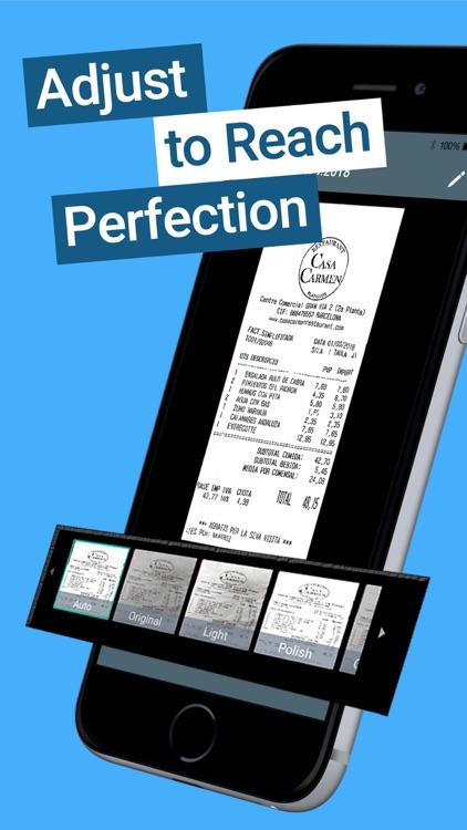 TapScanner PDF Camera scanner screenshot-4