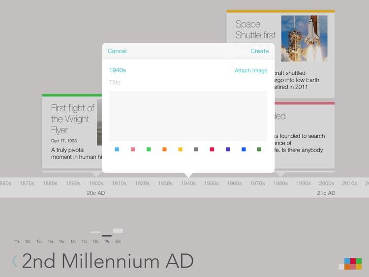 Lineal Timeline screenshot-4