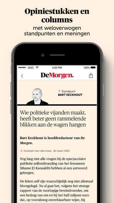 De Morgen - Nieuwsのおすすめ画像6